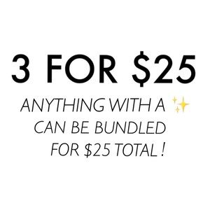 Other - ✨3 for $25✨